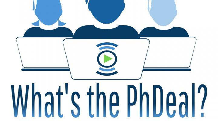 What's the PhDeal Podcast logo